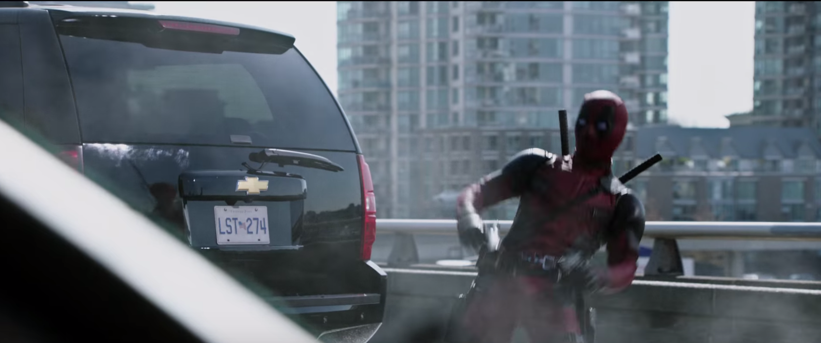 deadpool placement produit chevrolet